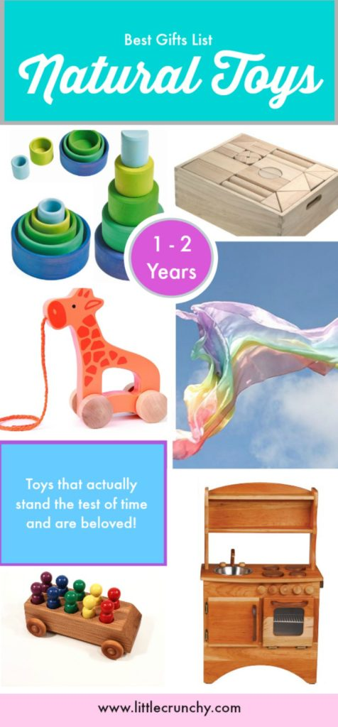 natural gifts for 1 and 2 year old babies