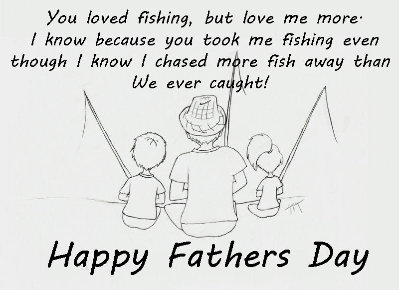 Dad Fishing