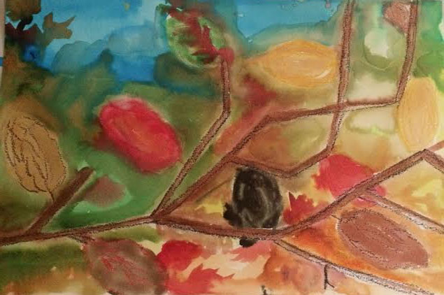 Homeschool_art_Toby_fall