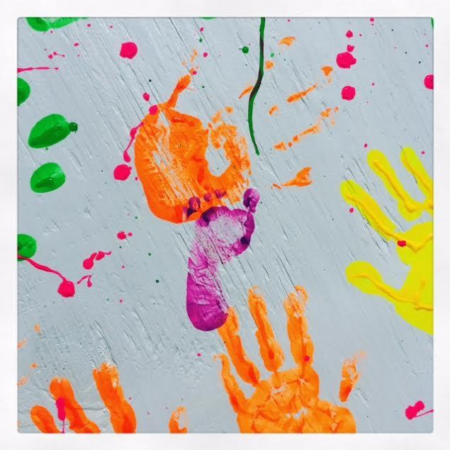 Kids Handprint Table 3