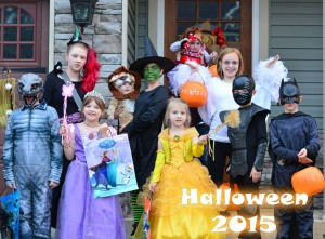 many kids Halloween 2015
