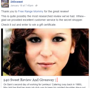 240 Sweet The Profit Review Blog