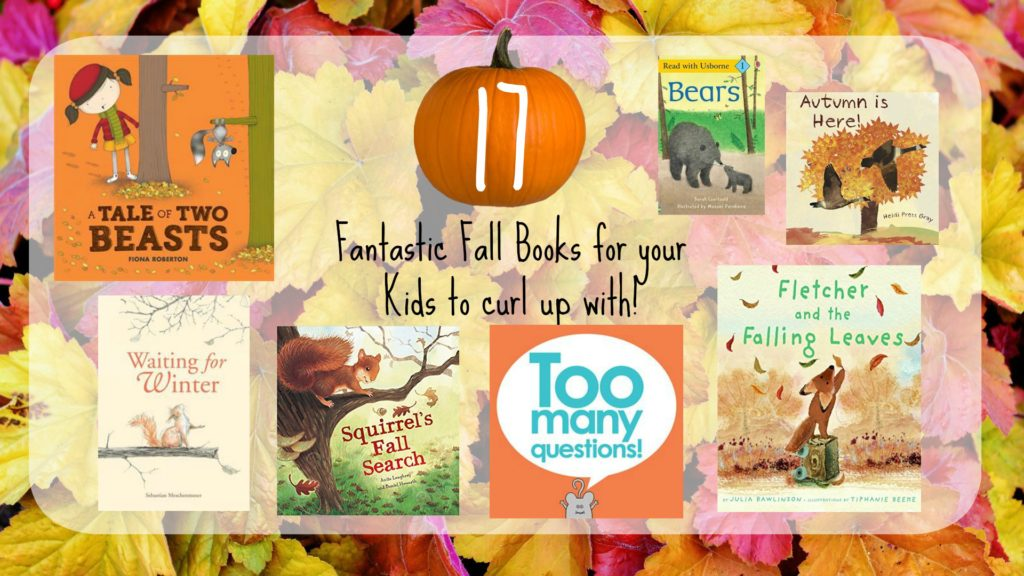 Fall picture book list for kids