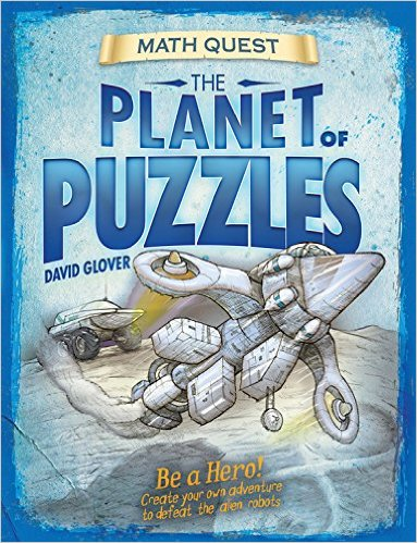 Planet of Puzzles Math Adventure Book