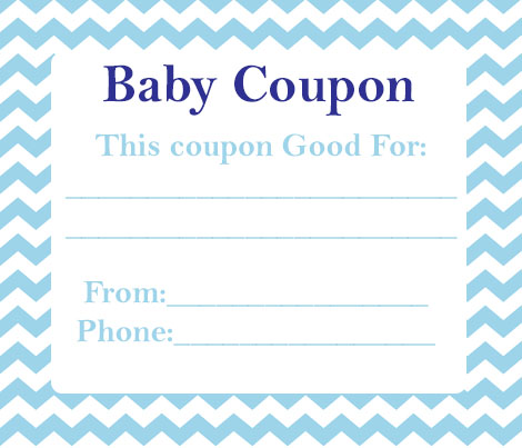 Baby Shower Coupon