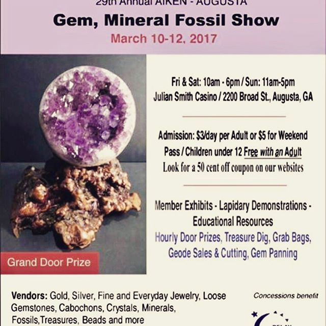 Gem and Mineral Show Geode Giveaway