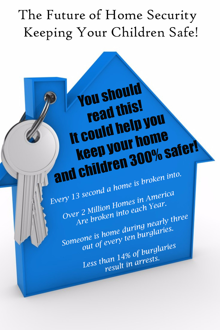 Home security keep kids safer statistics