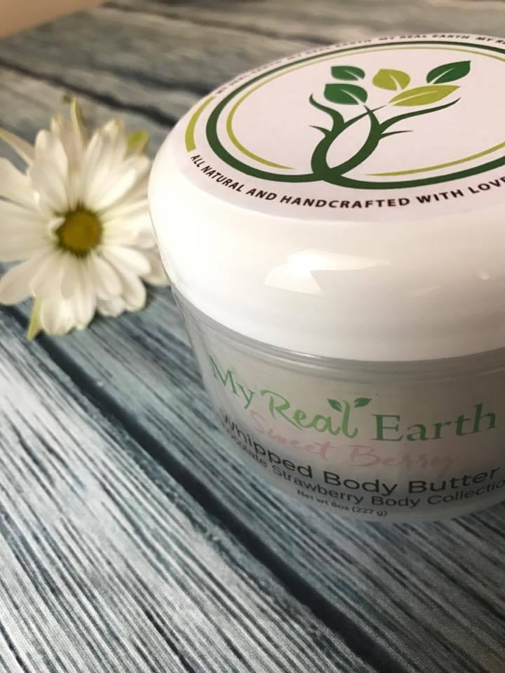 My Real Earth Body Butter littlecrunchy