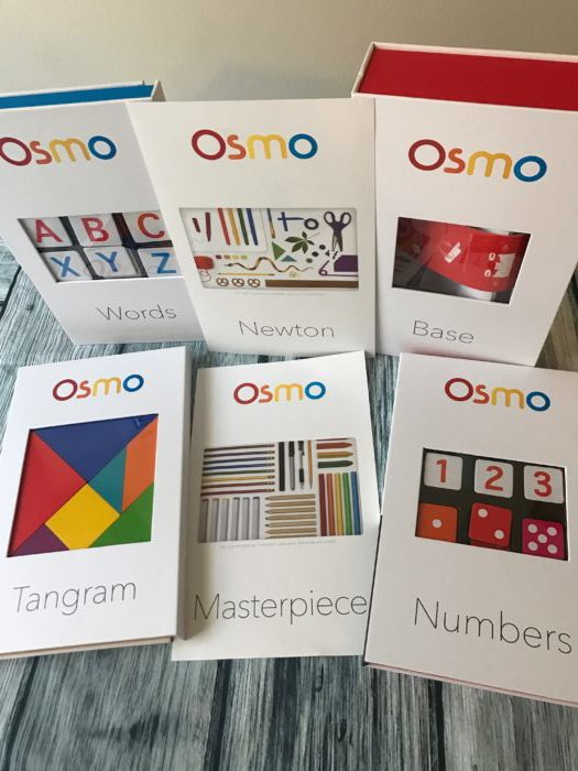 Osmo Genius Kit games