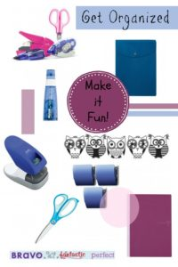 Get Organized Supplies Tips Back to School
