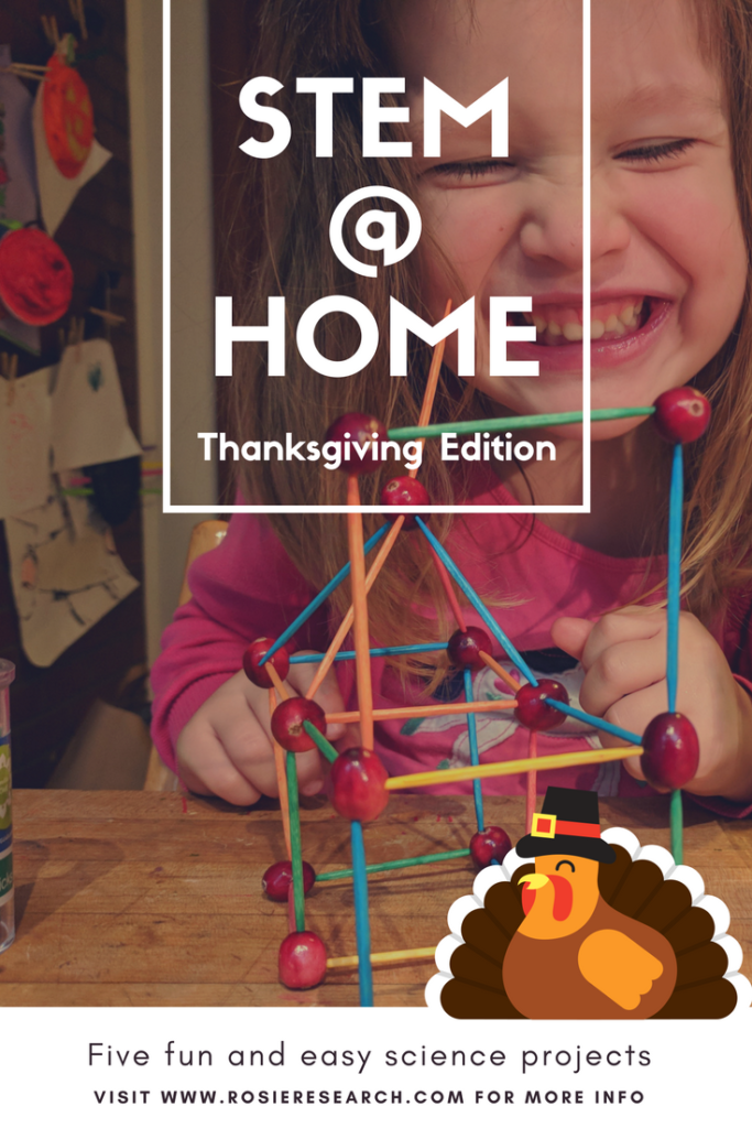 STEM Thanksgiving Kids Activities