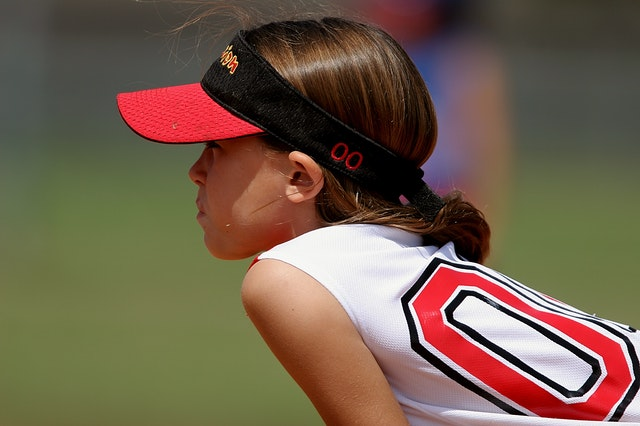 Girl Softball Player Youth Sports