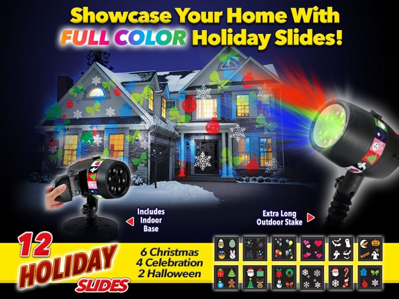 Easy Holiday Lights for the House